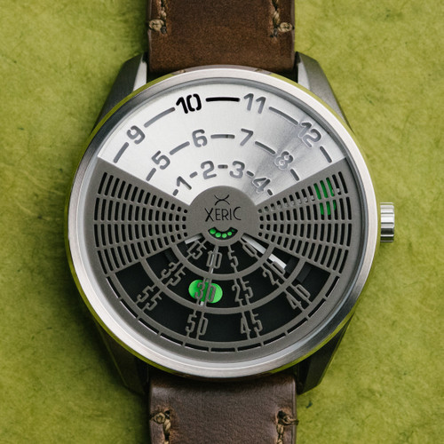 Xeric Decypher Automatic Silver Green Limited Edition (DCP-2121-06L)
