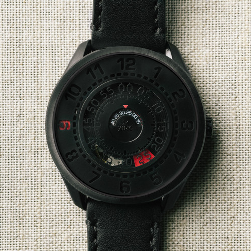 Xeric Cypher Automatic Tritium Black Red Limited Edition (CYP-3338-03L)