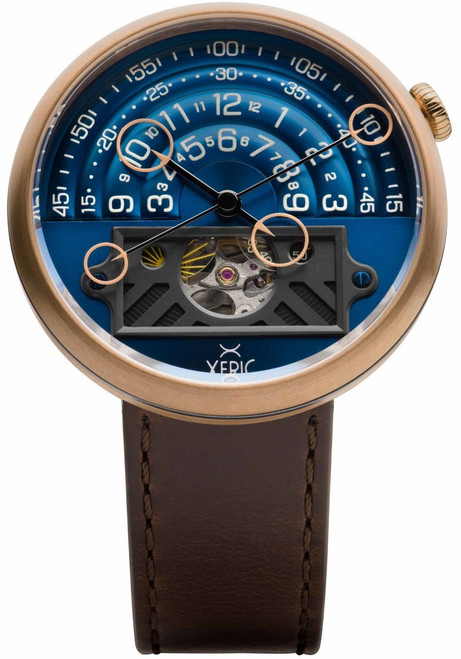 Halograph II Automatic Bronze Blue Limited Edition (HGA-9977-06L)