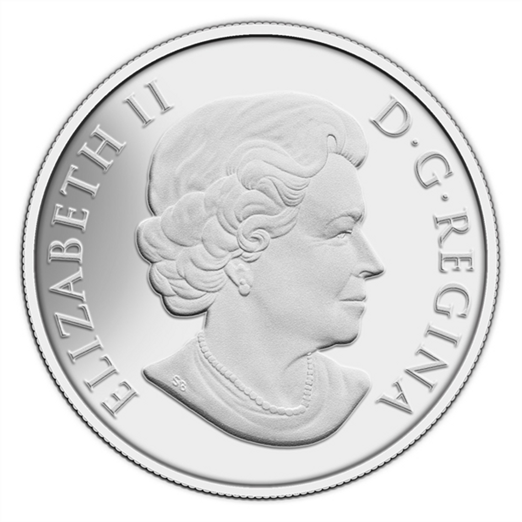 $100 for $100 Fine Silver Coin - The Grizzly (2014) Canada