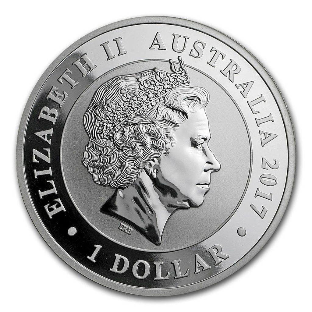 Only 25,000 Minted! THE 2017 AUSTRALIAN SILVER SWAN 1 OZ .9999 Silver Coin
