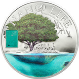 2015 Nano Life $10 Silver Coin - Cook Islands