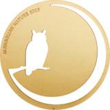 2016 Mongolian Nature - OWL 500 Tugriks Silver & Gold Coin - Mongolia