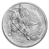 2017 South Korea 1 oz Silver ZI:SIN GALLUS BU Medal Twelve Guardians