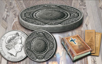 2016 ST PETERS BASILICA 4 Layer Silver Coin 20$ Cook Islands