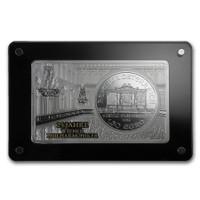 2014 3 oz 25th Anniversary Vienna Philharmonic Silver Bar and Coin Set Box COA