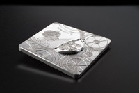 2017 TIME CAPSULE COIN 1 oz .999 Square Shaped Silver Coin Cook Islands $5
