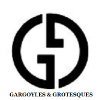 """2017 Gargoyles & Grotesques """"DECAY"""" Silver Coin Tchad 1000 Francs ANTIQUED"""
