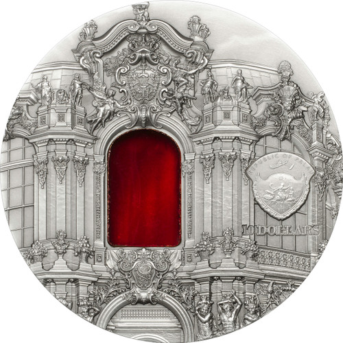 "2014 Tiffany Art X ""Baroque Dresden"" 2 oz Silver Coin"
