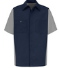 Red Kap Automotive Crew Shirt
