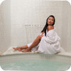 Bath robe option for resort rooms