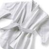 Satin stripe robe