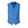 Beautiful blue linen uniform vest.