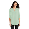 3/4-Sleeve Tunic Blouse