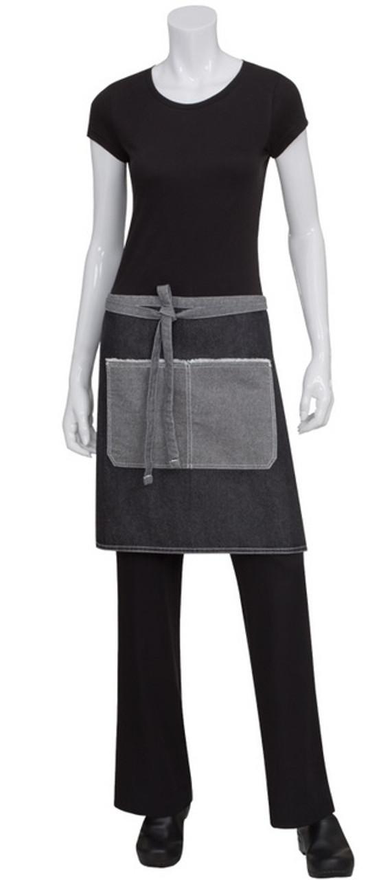 Server style waist apron