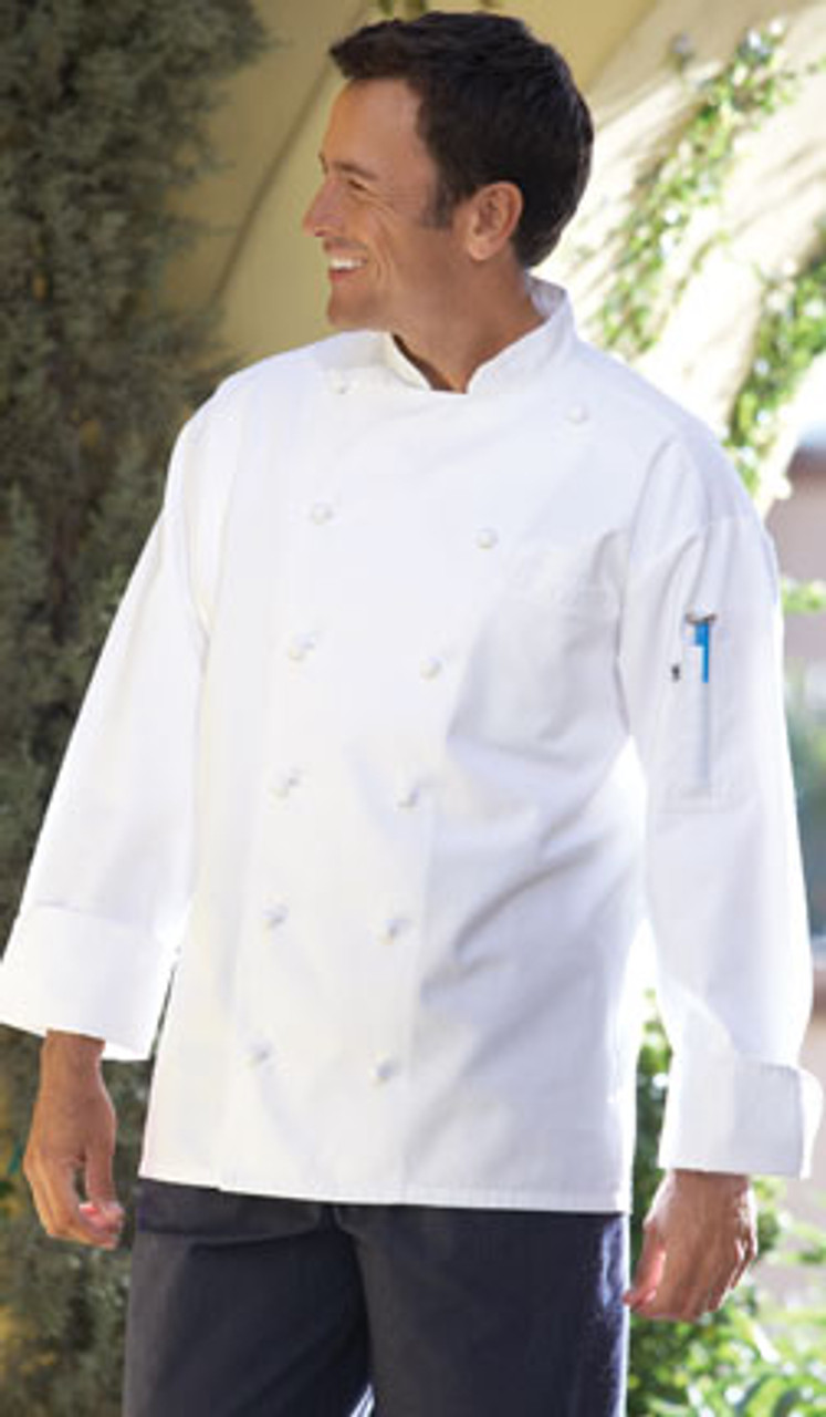 Traditional style chef coat