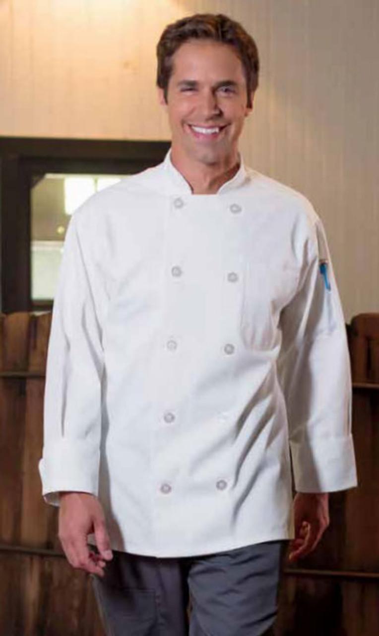 White classic chef coat