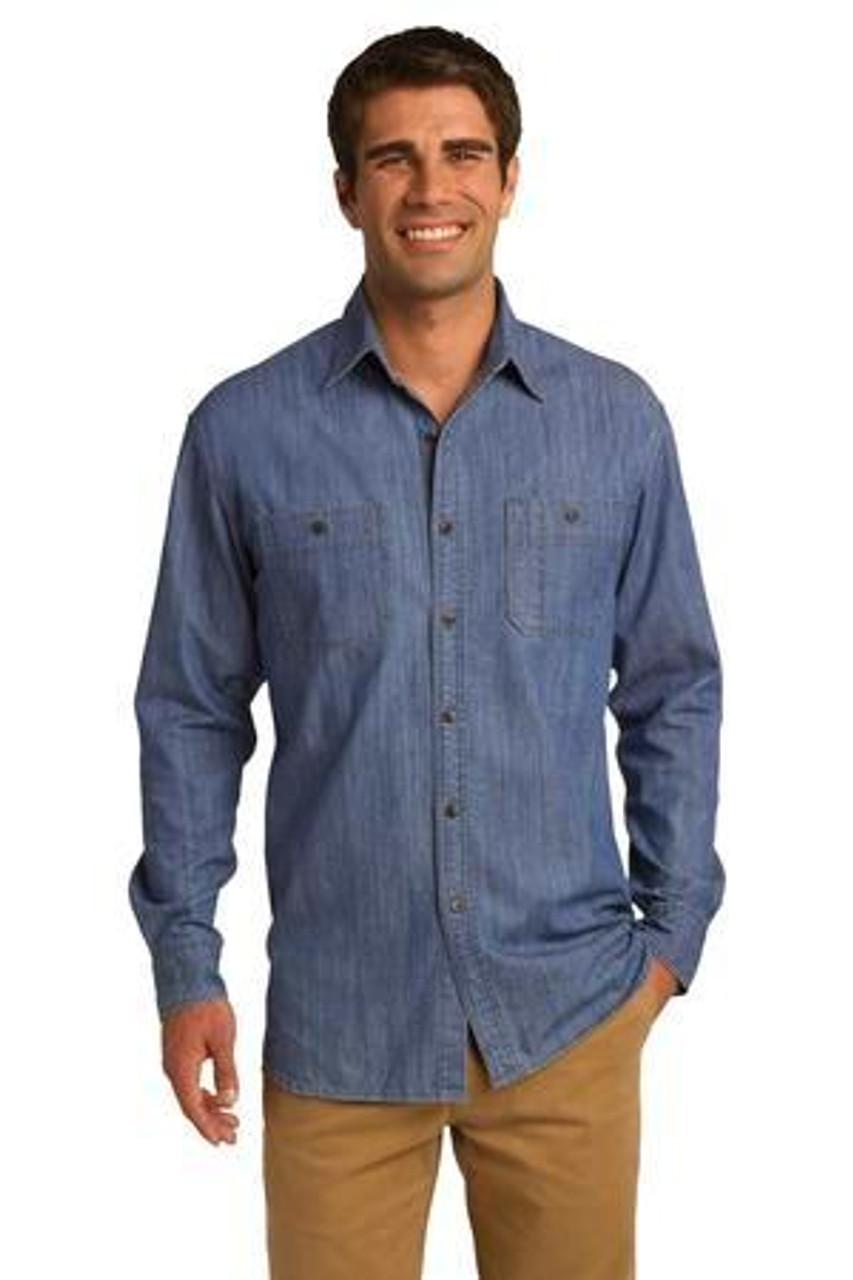 S652 Modern Denim Shirt