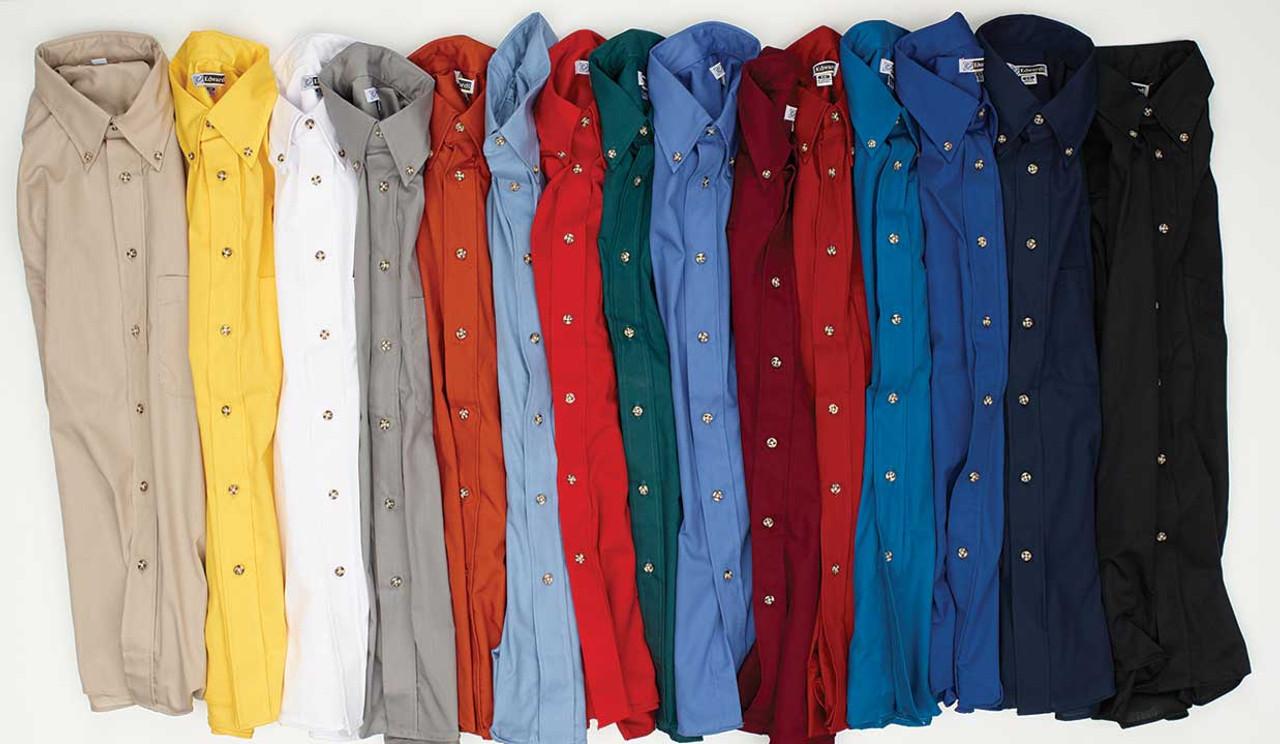 Men's Short Sleeve Easy Care Poplin Shirt