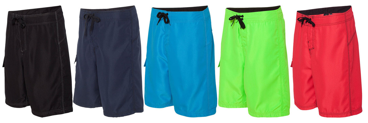 Board shorts from the side