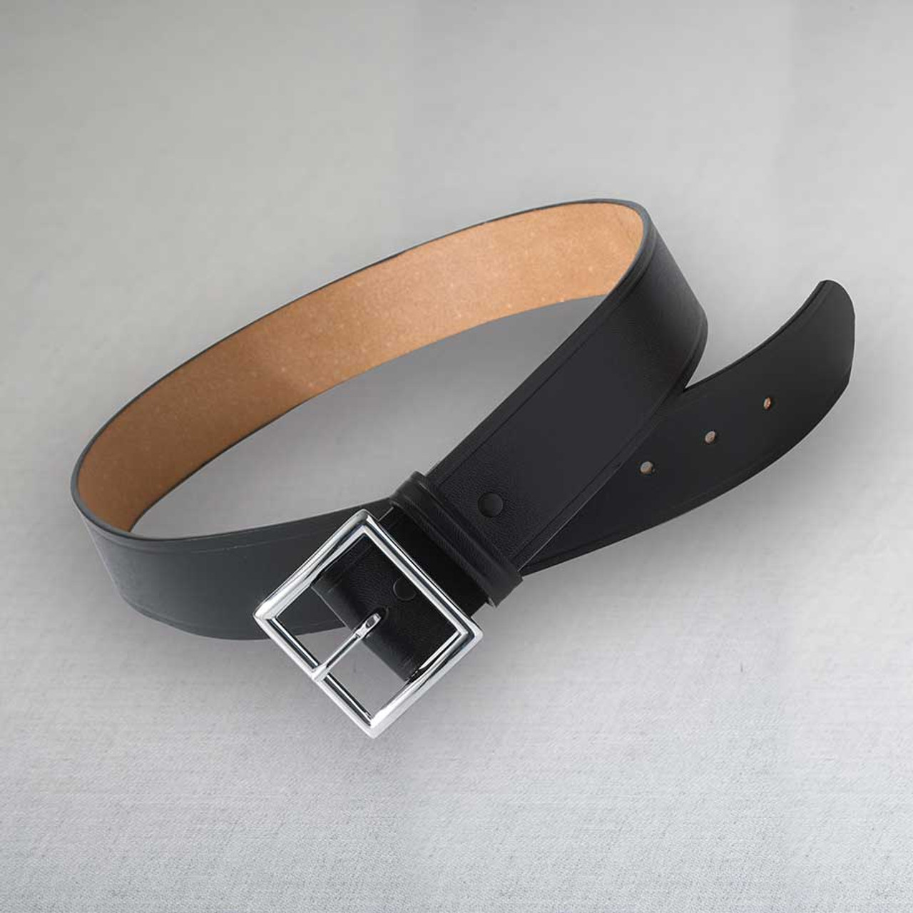 Leather Garrison Security Belt