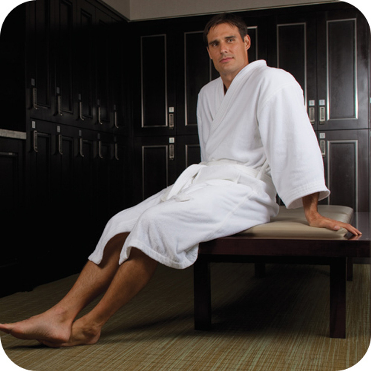 Provide a great stay for your guest with this inexpensive bath robe