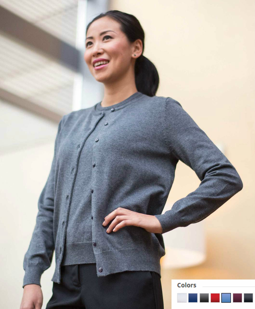 038 Corporate Sweater Twin Set