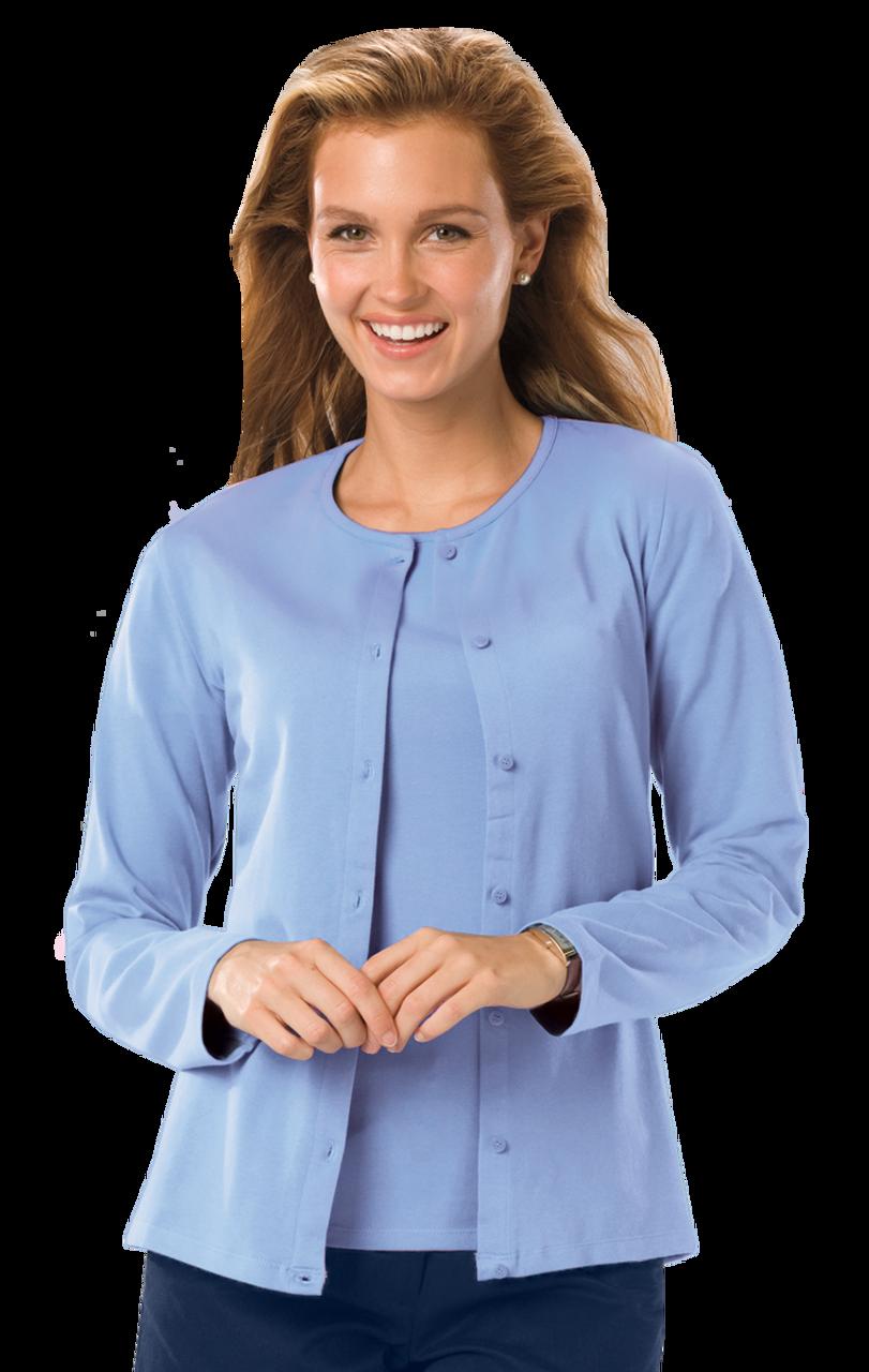 Ladies Long Sleeve Cardigan