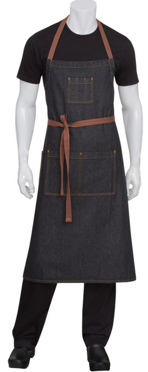 single top pocket full bib apron