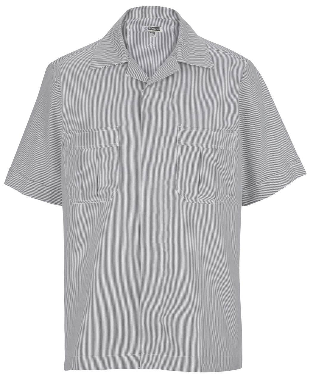 Edwards Garment Men's Junior Cord Service Shirt CLOSEOUT No Returns
