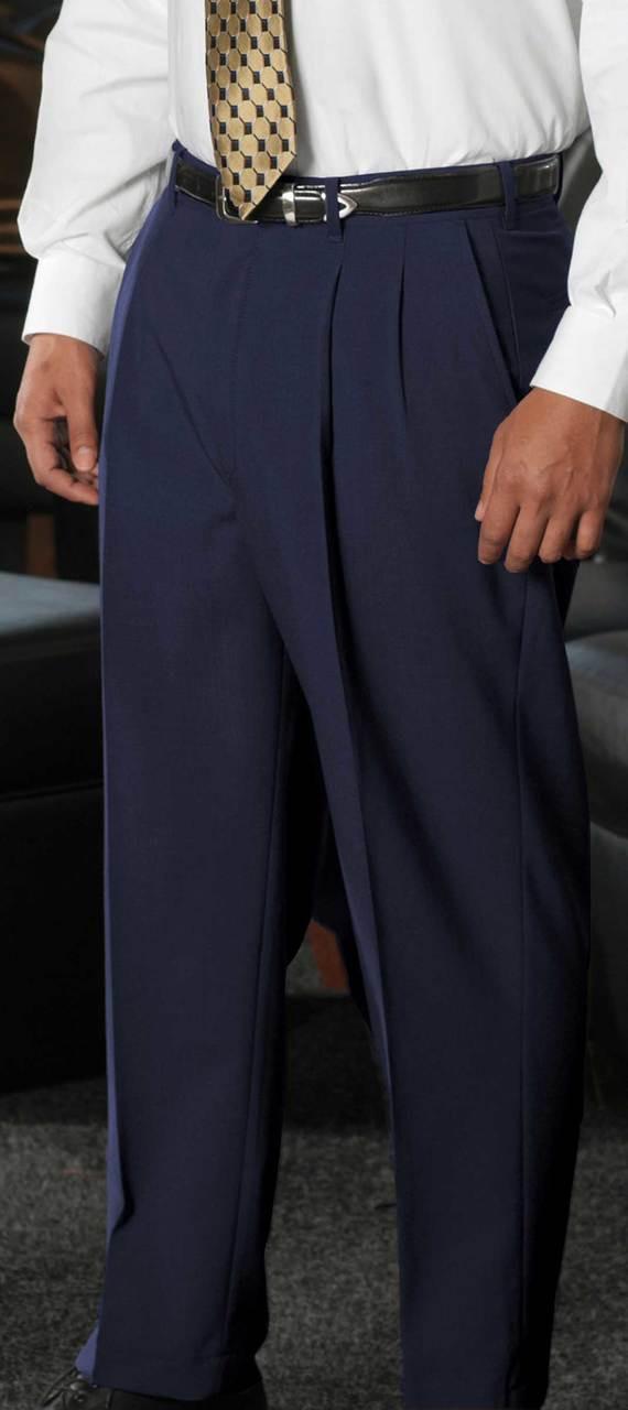 Men's Pleated Suit Pants