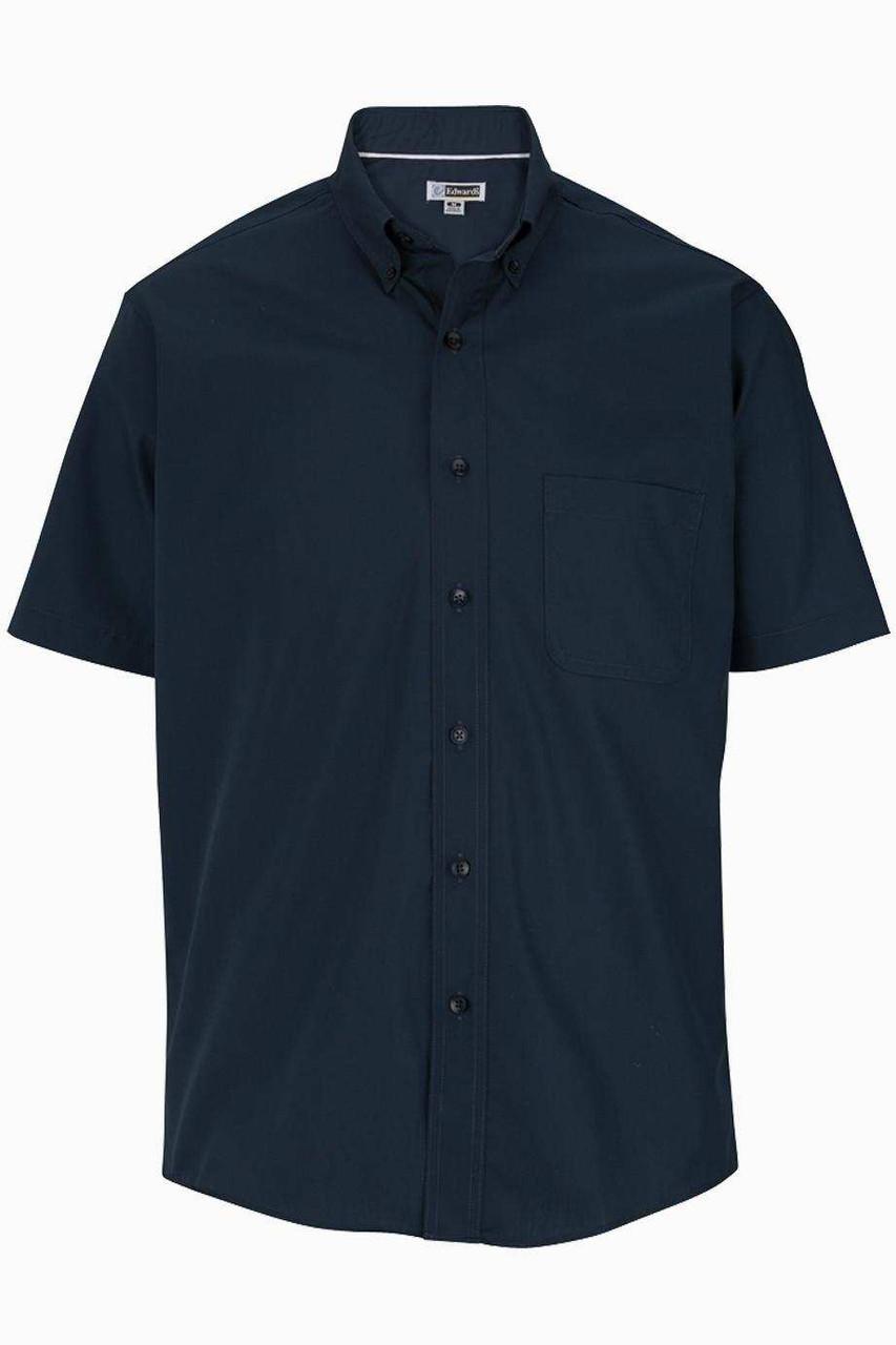 Men's Short Sleeve Poplin Shirt