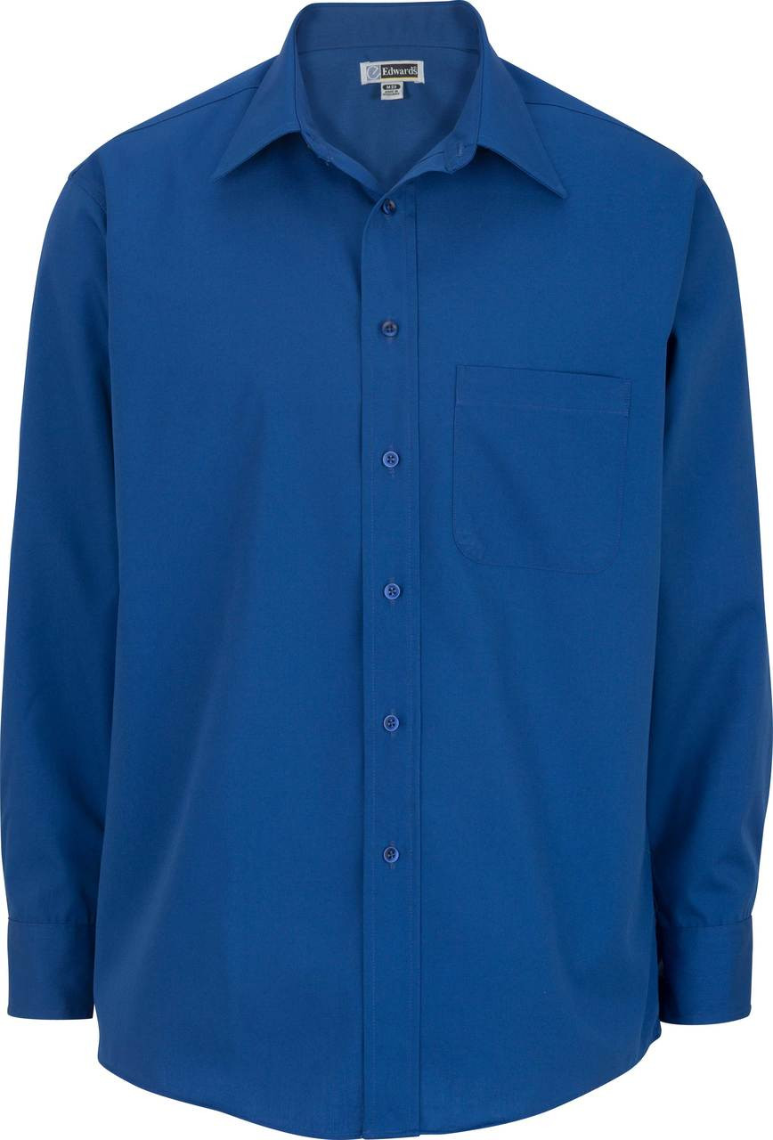Men's Point Collar Poplin Shirt
