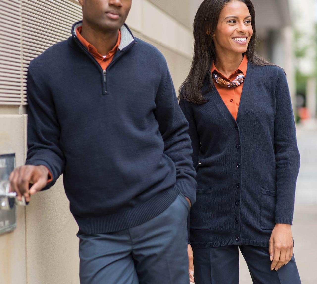 1/4 zip sweatshirt for men and women