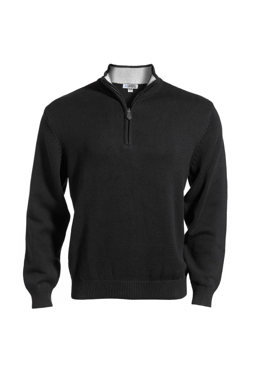 Black 1/4 zip sweatshirt