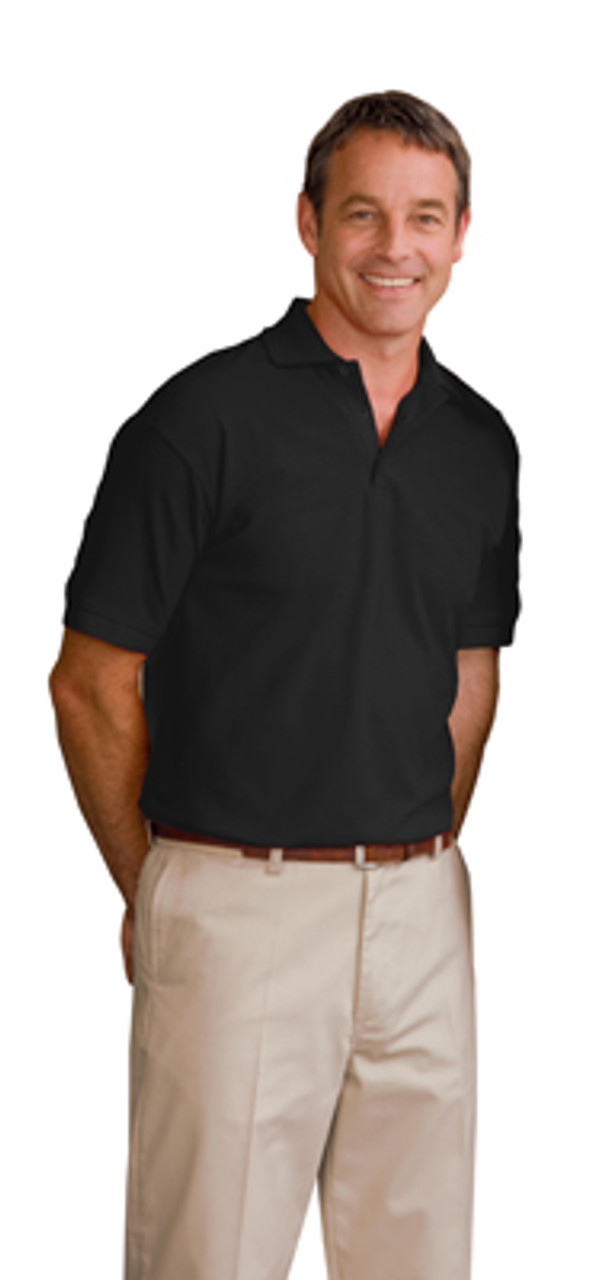 Screen print your logo on this polo!