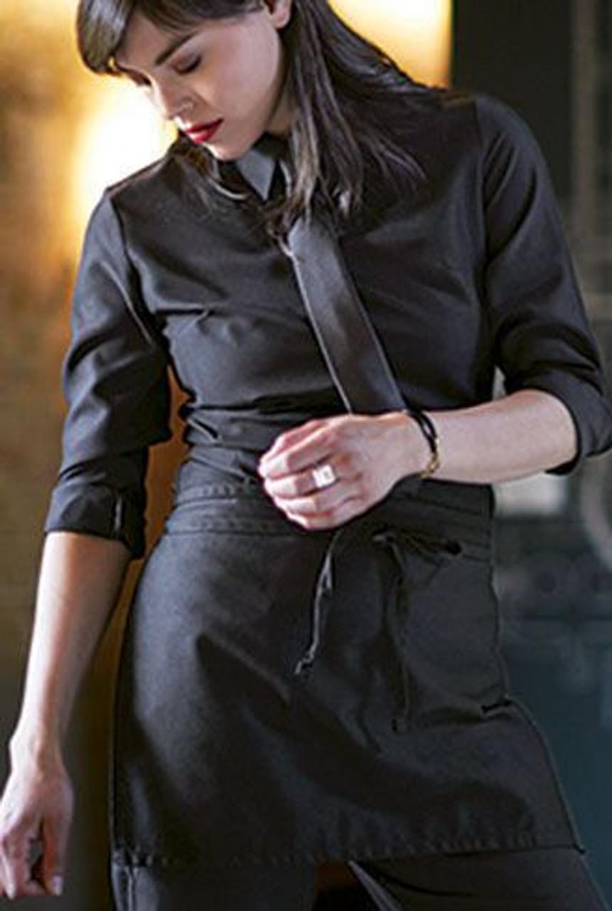 Black Apron with no pockets