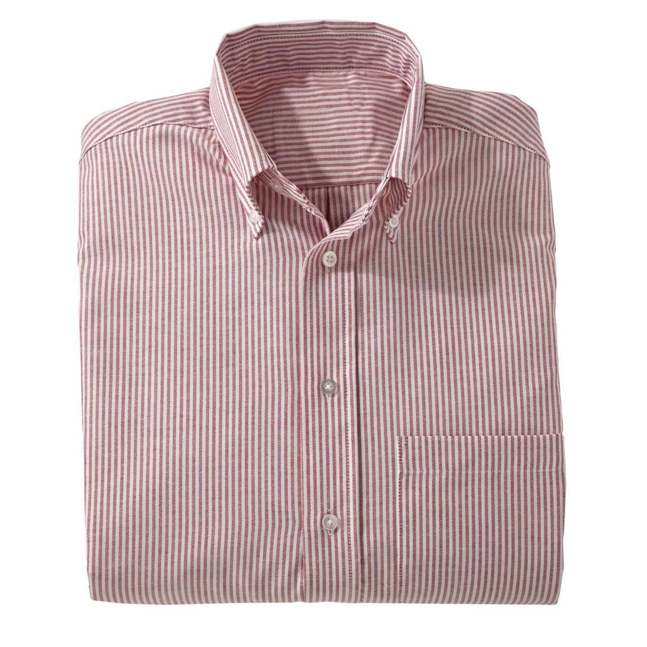 Men's Long Sleeve Easy Care Oxford Shirt