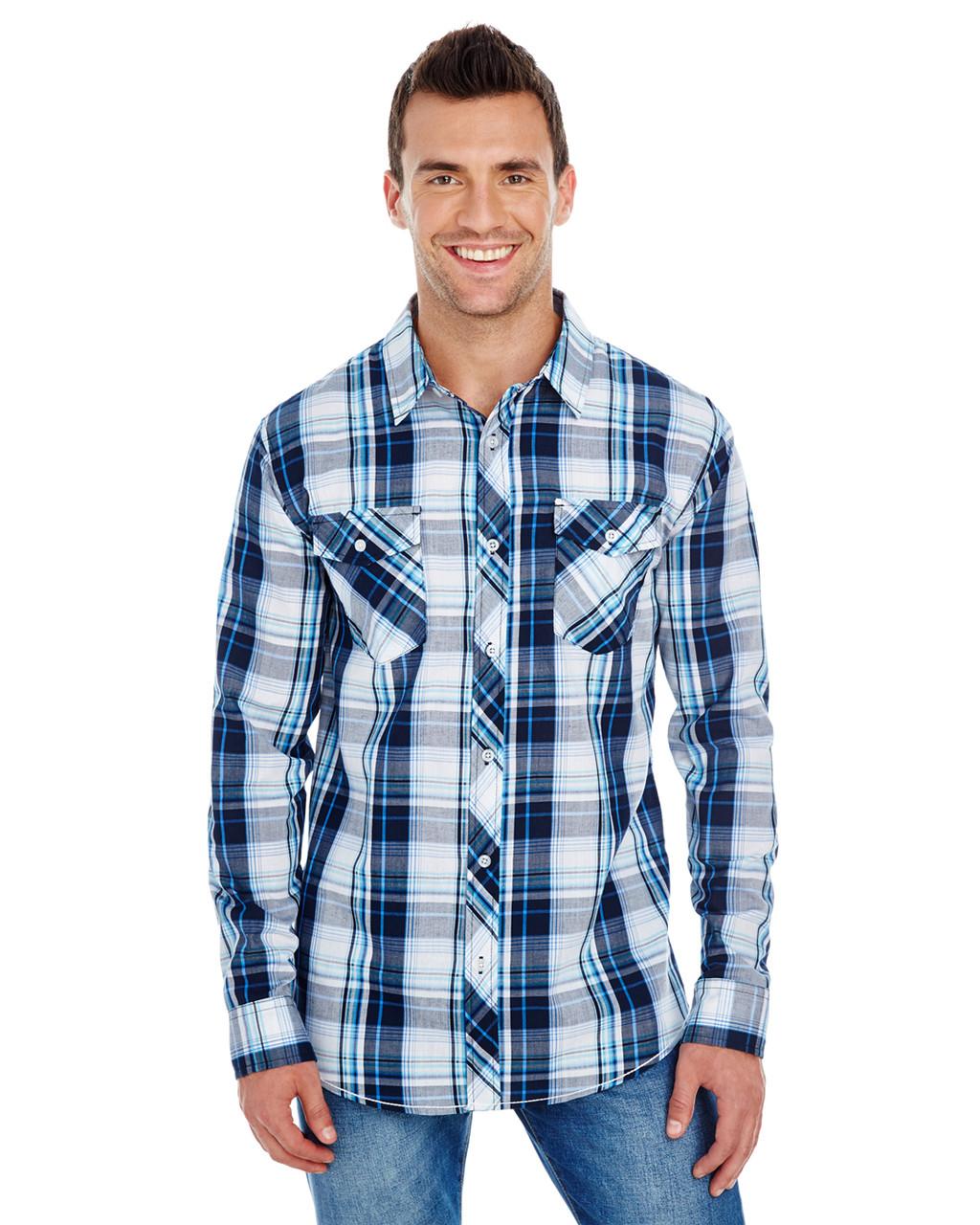 Plaid Uniform Shirt by Burnside