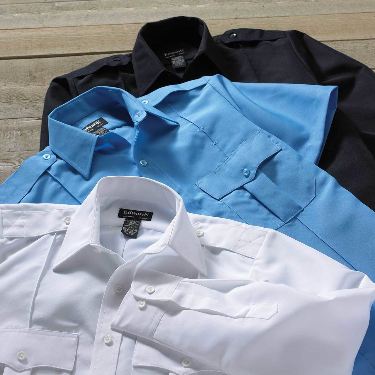 Short Sleeve Polyester Security Shirt