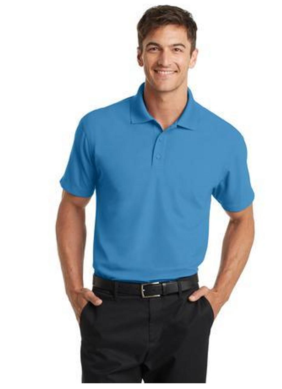 Celadon Blue Polo