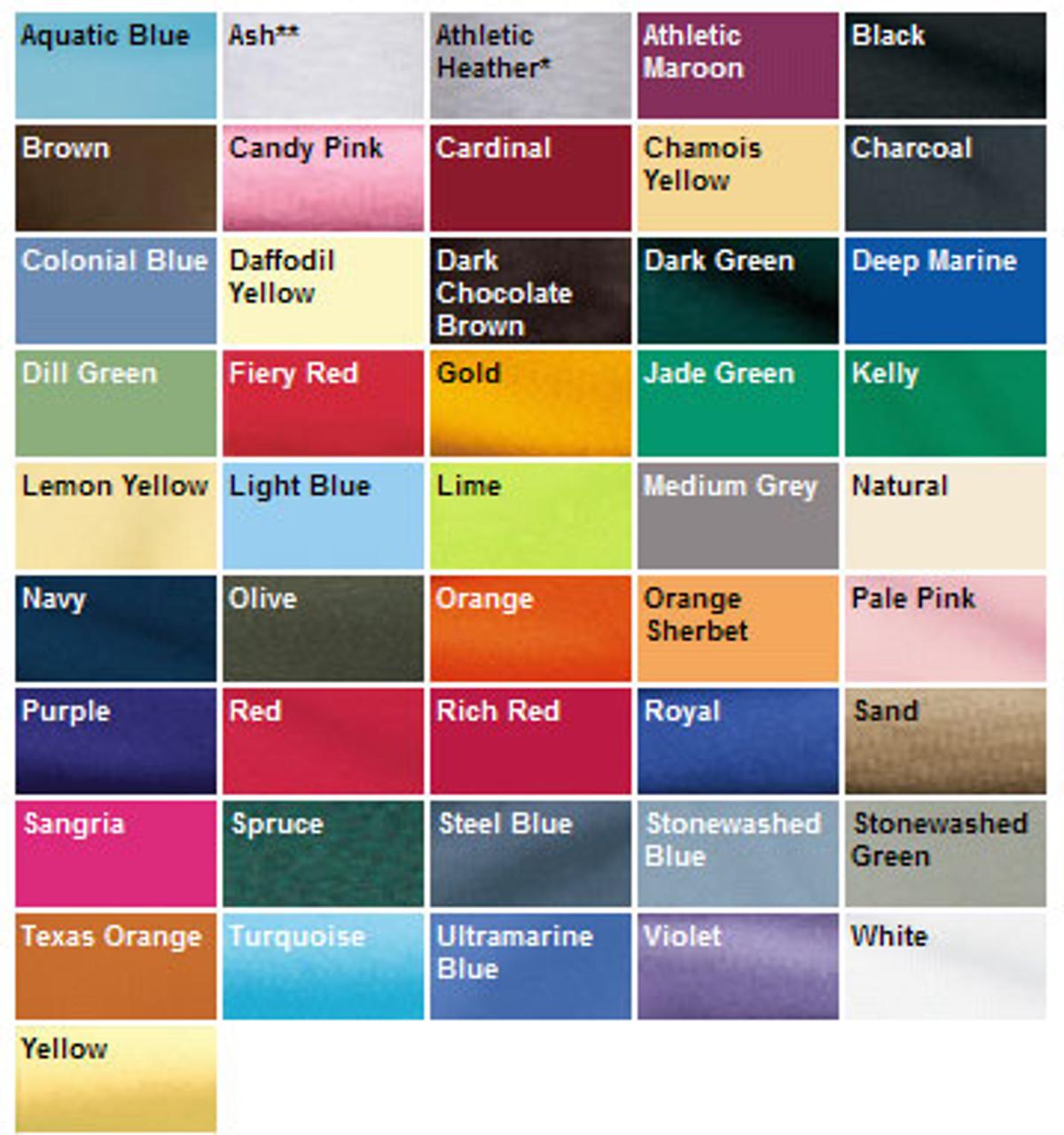 Choose a color you like!