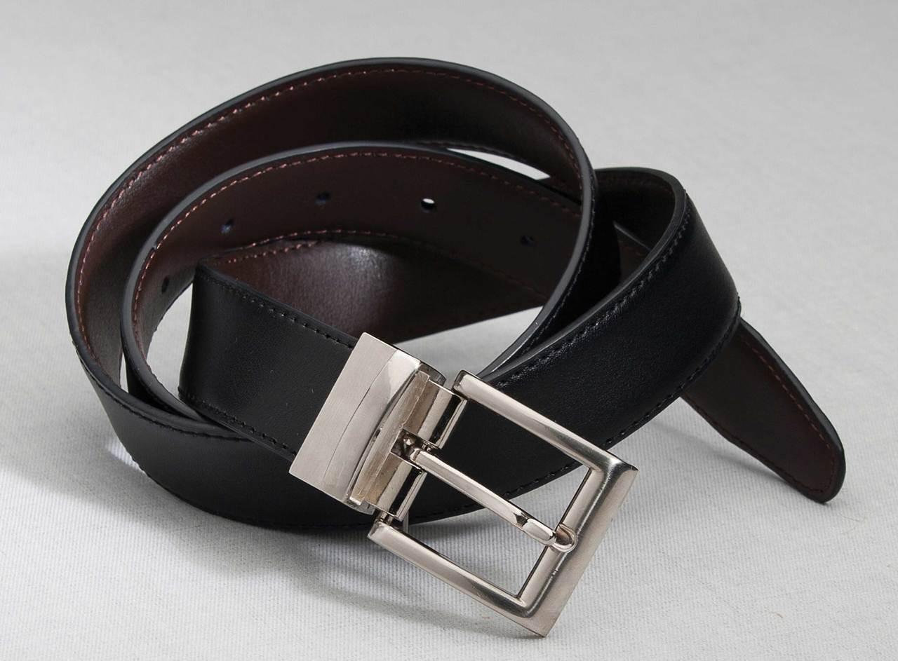 Wear this belt black or brown!