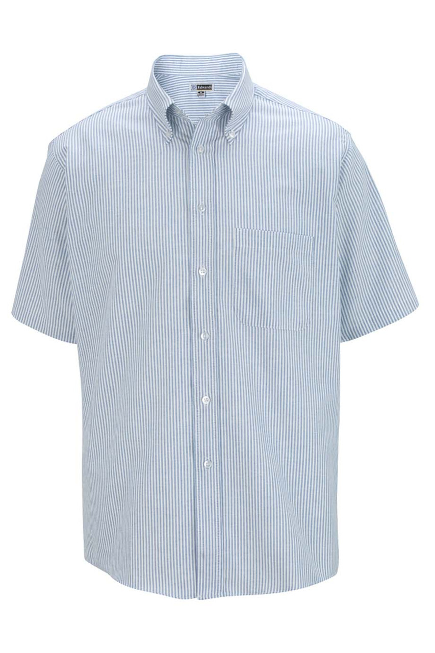Short Sleeve Easy Care Oxford for Men