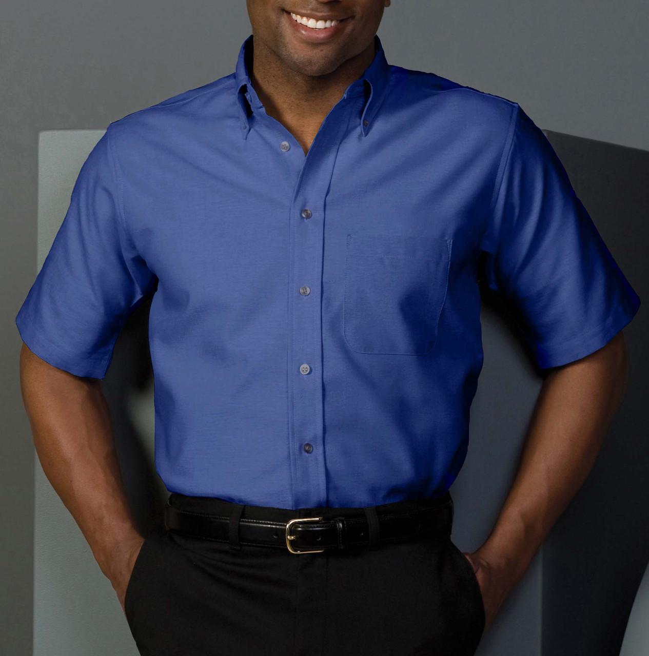 1027 Short Sleeve Oxford Uniform Shirt