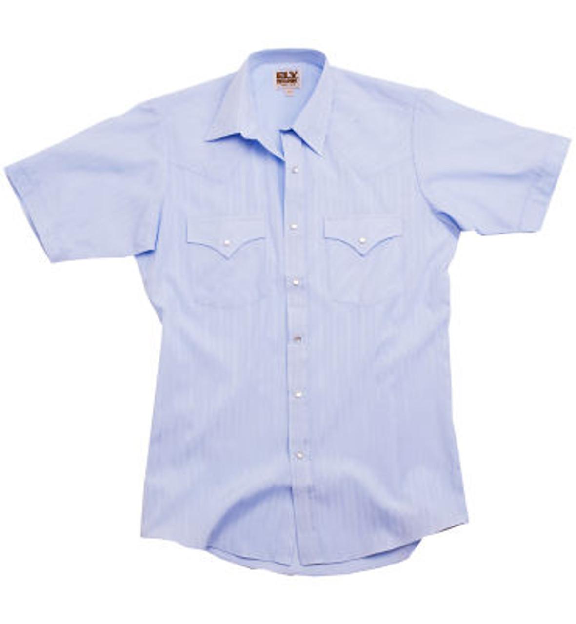 Western themed short sleeve uniform shirt!