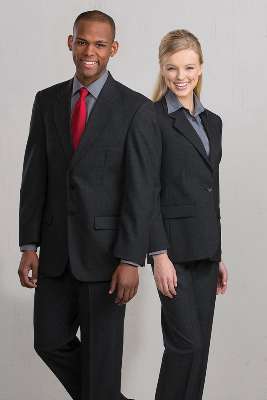 Charcoal tuxedo jackets