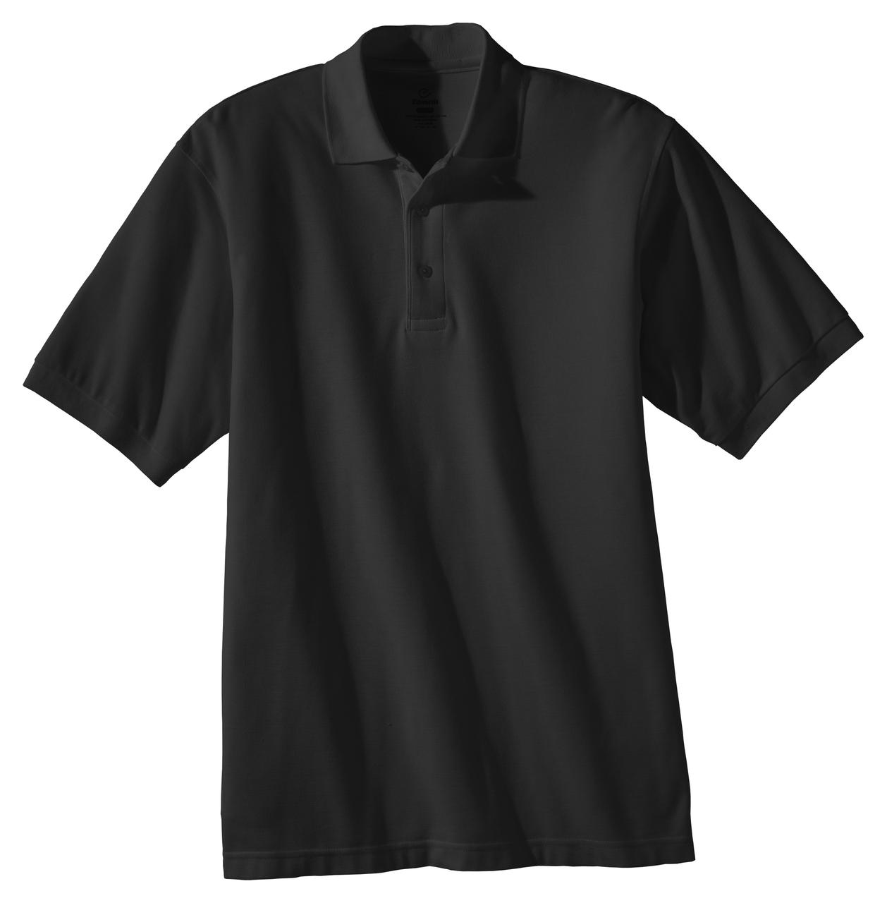 ROYAL Ed Garments Short Sleeve Pique Polo Pocket Shirt Large