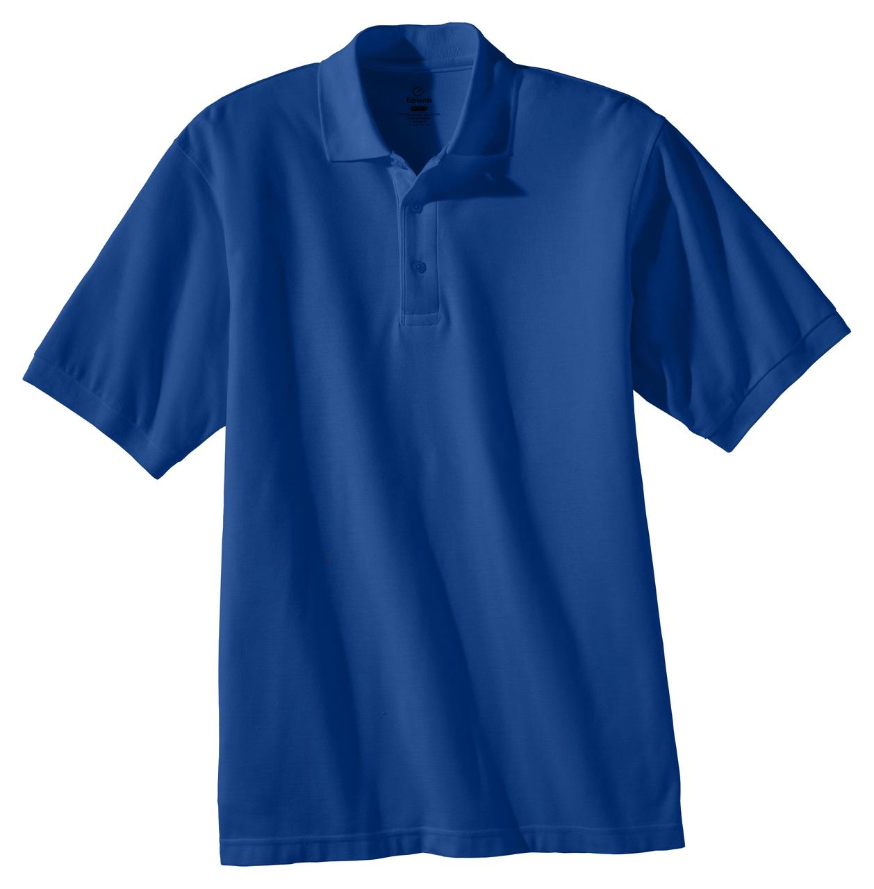 Men's Soft Touch Pique Polo Shirt