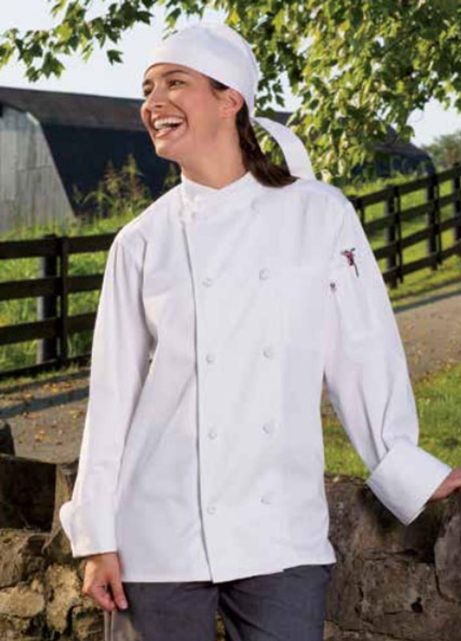 White soho chef coat
